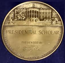 presidential scholar essays The us presidential scholars will be recognized and presented with a presidential scholar medallion during a submitted essays and.