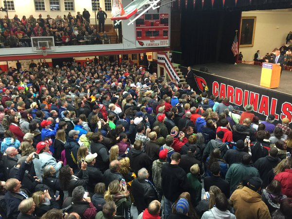 Trump Has Record Crowd in Claremont | WNTK Breaking News