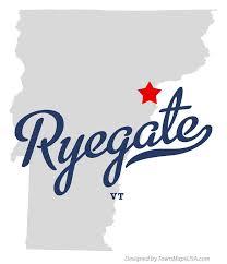 ryegate VT map