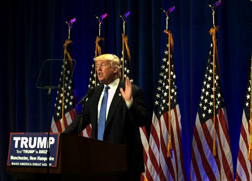 Trump manchester