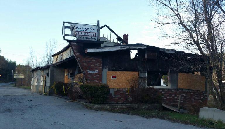 Claremont Man Convicted of Setting Fire to Joey's Restaurant